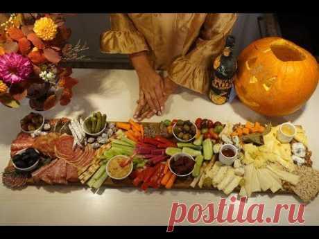 Мясная, Сырная и Овощная Нарезка на праздничный стол