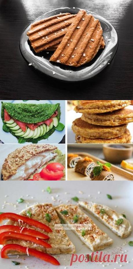 Рецепты пп овсяноблина для правильного питания с фото
