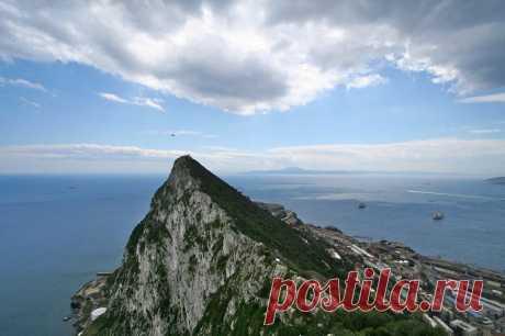 Гибралтарская скала она же Геркулесовый столб | ТУРИЗМ И ОТДЫХ