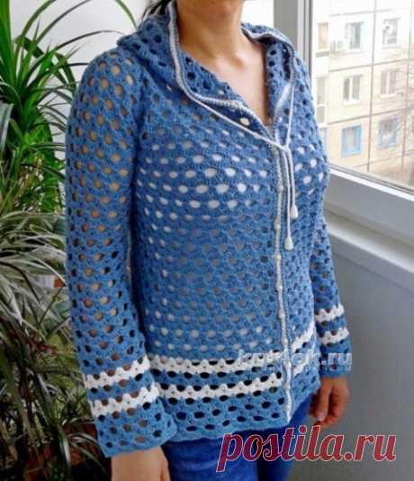 Jacket with a hood — Evgenia Rudenko's work