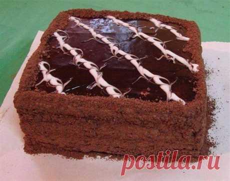 Шоколадный торт Богема - рецепт на сайте Дом Десертов
