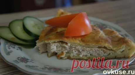 Картофельный пирог с начинкой из куриного фарша - Простые рецепты Овкусе.ру