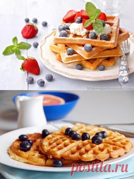 30 Рецептов вафель для электровафельницы.
