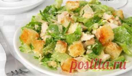 Салат з сухариками і куркою: рецепт | Смачно Як приготувати салат з сухариками. Рецепт салату з сухариками і куркою