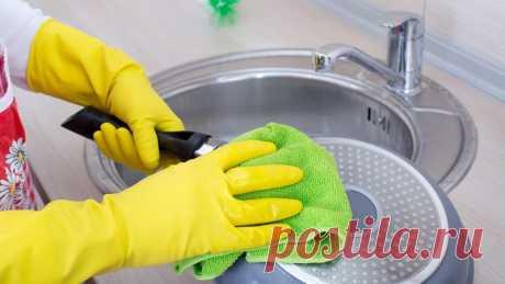 Народные средства для мытья посуды — Полезные советы