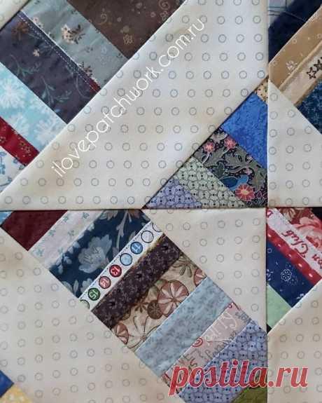 Как шить из кромок и остатков так, чтобы одеяло получилось красивым? | Я люблю пэчворк | Яндекс Дзен