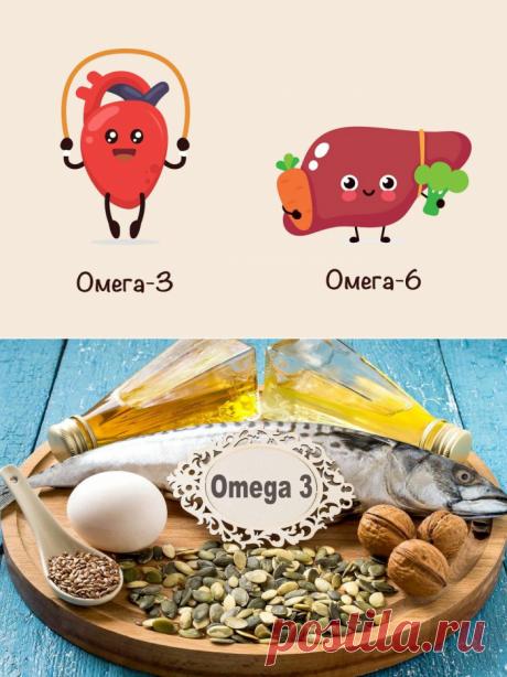 Омега-3 и омега-6: чем отличаются, где содержатся и почему именно омега-3 нужно добавлять в рацион?
