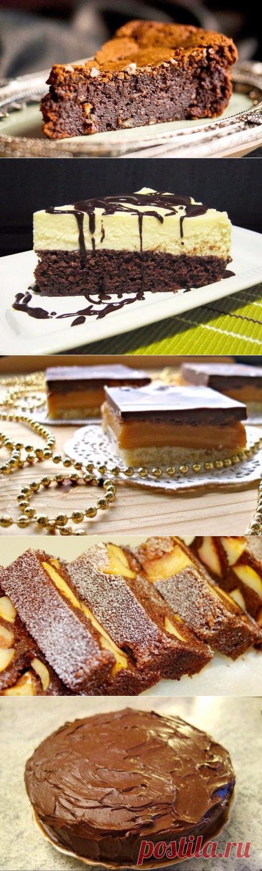 5 шоколадных десертов.