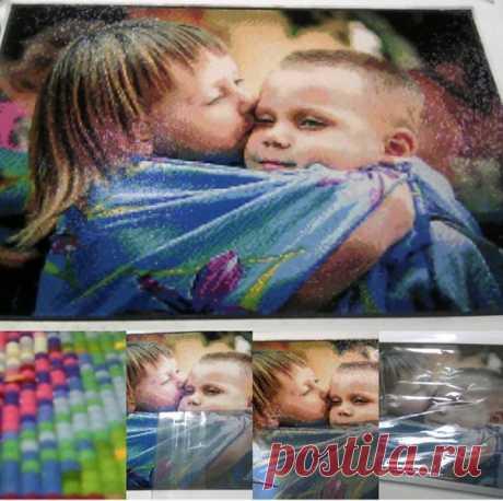 У нас вы можете заказать алмазную вышивку (мозаику) по вашему фото, изготовить можно по любому фото, репродукцию известной картины или просто по картинке из интернета! Срок изготовления всего 7 дней! sova-rukodelnica.com.ua