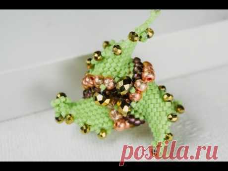 USED MATERIALS: Czech beads nr.6, nr.8, nr. 10 Support us on Patreon or paypal: https://www.patreon.com/olgasbeads paypal: mrs.olga.cojocaru@gmail.com Для фи...