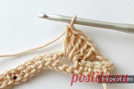Вязание крючок