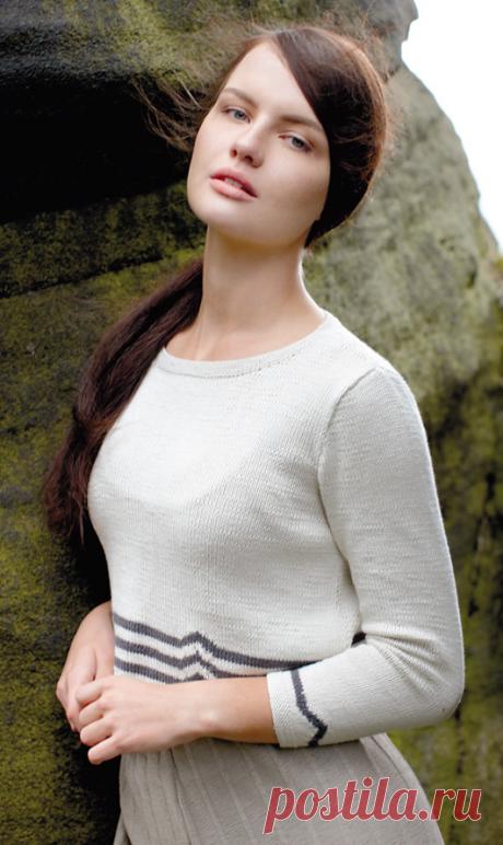 Вязаный пуловер Tern | ДОМОСЕДКА