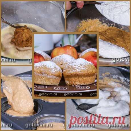 Кекс с яблочным пюре