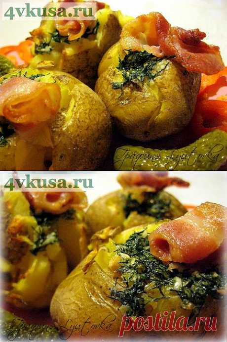 """Придавлена"" печена картопля. Рецепт - шутка. | 4vkusa.ru"