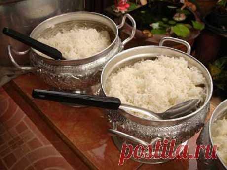 Как варить рис. Мастер-класс