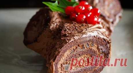 Шоколадное полено от Пьера Эрме — Sloosh – кулинарные рецепты