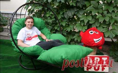 Напольное кресло шар \ подвесное кресло лежак 2 в 1