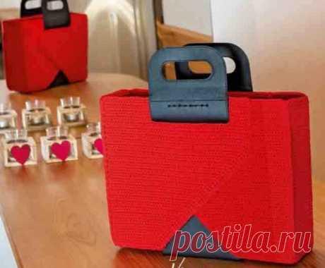 Простые и красивые сумки крючком