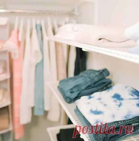 Чёрт ногу сломит: как правильно разбирать одежду в шкафах - ГлагоL
