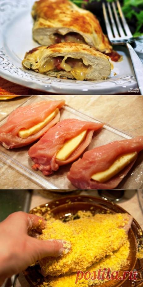 Куриная грудка с сыром - пошаговый кулинарный рецепт с фото на Повар.ру
