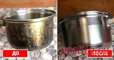 Отчистить нагар поможет вот такое средство:  - 1/2 чашки соды  - 1 чайная ложка жидкости для мытья посуды  - 2 столовые ложки перекиси водорода   Смешивать до тех пор, пока не станет похоже на взбитые сливки (при необходимости долить еще перекиси), нанести на грязную поверхность и оставить минут на 10. Должно помочь!