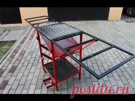 Table for welding works as the hands