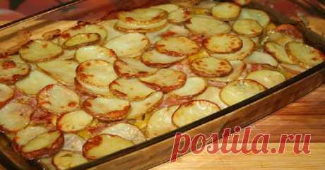 Картофельная запеканка по-украински: сочетание продуктов и вкус на высоте!