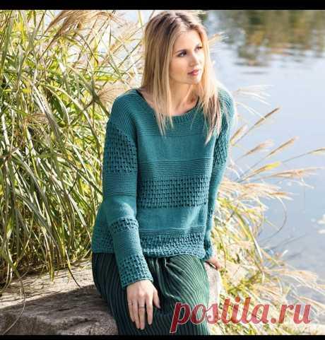 Подборка моделей от 22 апреля. Описания и схемы. Модели спицами.   knitting_in_trendd   Яндекс Дзен