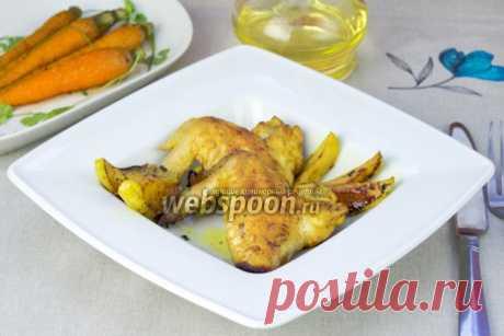 Куриные крылышки с яблоками | Рецепт крылышек с яблоками с фото | Жареные куриные крылышки на Webspoon.ru
