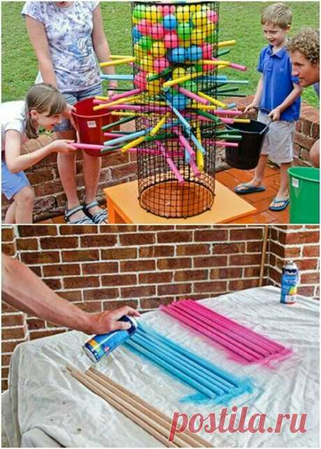 Игра для детского дачного праздника