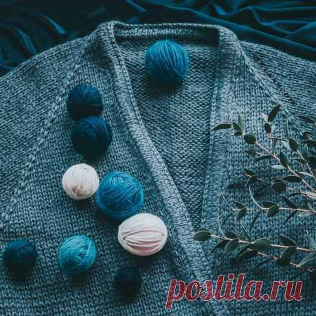 Ритм прибавок в реглане сверху спицами | Ксения Kukanchik | Яндекс Дзен