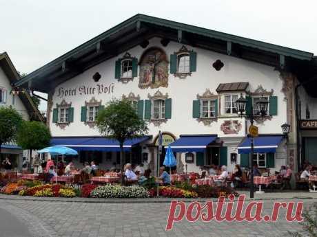 Обераммергау – город мастеров в Баварии — Путешествия