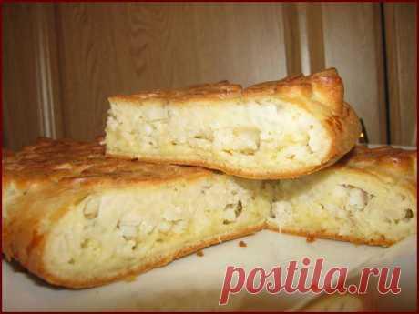 Пирог с рыбными начинками + Универсальное тесто для пирога с несладкой начинкой