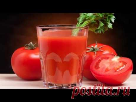 Томатный сок на зиму в домашних условиях. Простой рецепт заготовки томатного сока.