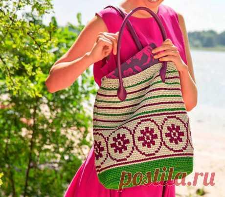 Bag a hook with a pattern - knitt.net