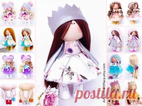 Interior Rag Doll Fabric Baby Doll Nursery Textile Doll | Etsy