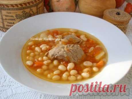 Рецепт фасолевого супа с мясом - рецепт с фото