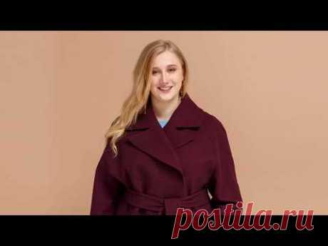 Пальто больших размеров по выкройке GRASSER №662
