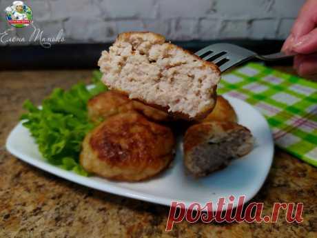 Проверила и оценила рецепт котлет от шеф-повара (без яиц, картошки и хлеба) | Кухня без границ Елены Танько | Яндекс Дзен