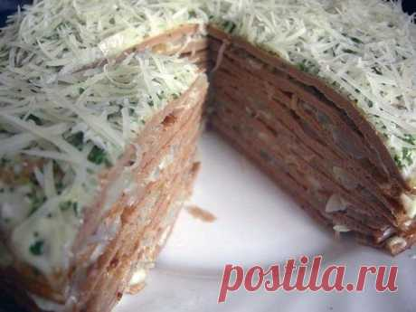How to make liver cake. - recipe, ingredients and photos