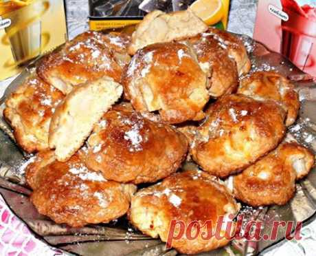 We advise to prepare - the most tasty apple cookies! With a crisp and soft core!