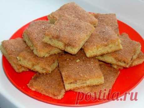 Вкусное рассыпчатое домашнее печенье