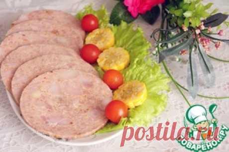 Ветчина домашняя - кулинарный рецепт
