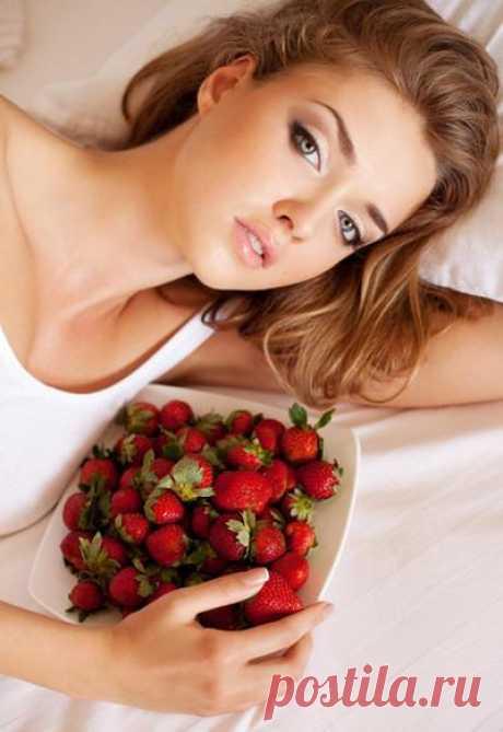 Клубника – польза и вред для организма и лица женщины