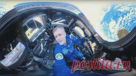 Mashable: Как выглядит Земля с МКС – 360-градусное видео RT — ИноТВ