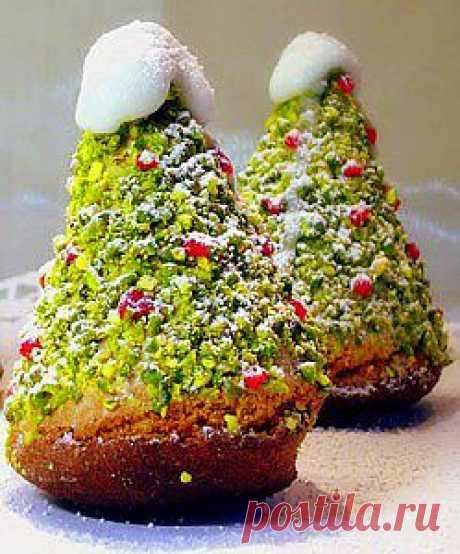 Пирожные Рождественская елочка