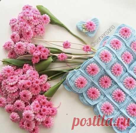 Милые цветочные мотивы