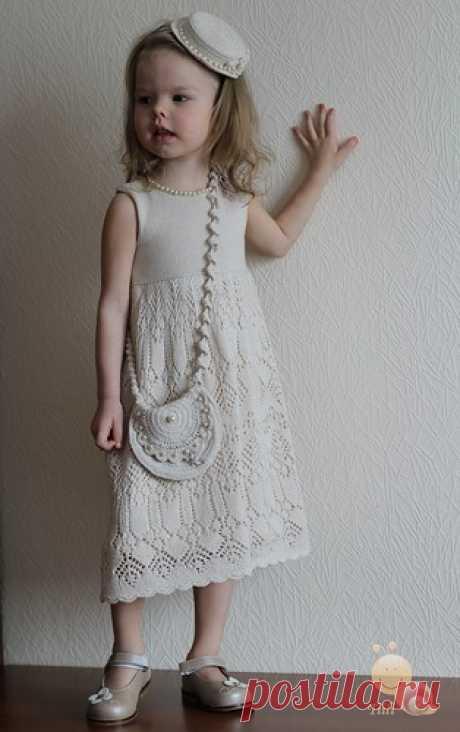 Платье для девочки по мотивам платьев Жаннетты Мирмизетт