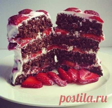 Десерт, который можно всем. Шоколадно-овсяный кекс