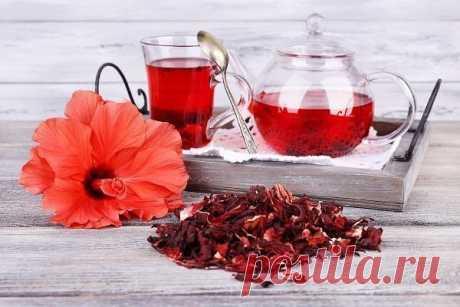 Чем полезен чай каркаде | Делимся советами